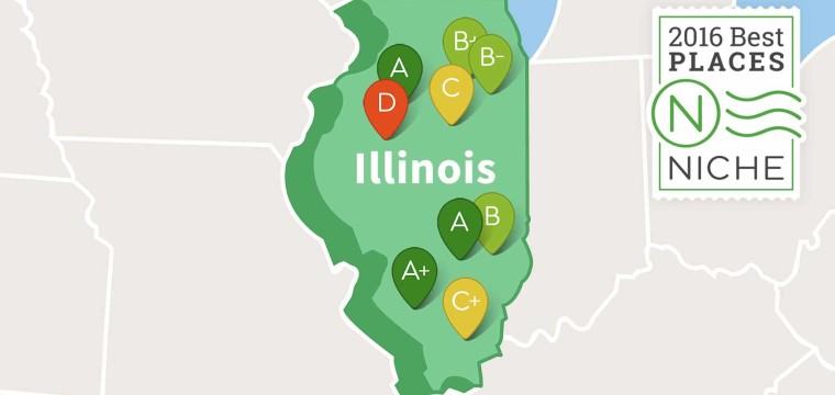 2016 Best Suburbs to Live in Illinois – Niche