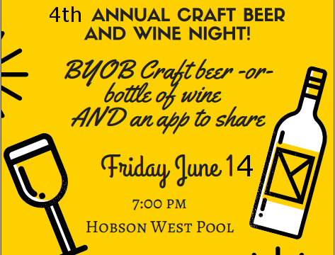 Hobson West Craft Beer Night